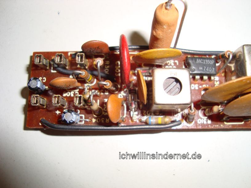 HH Scott R75S: AM IF Amplifier Assembly neue Kondensatoren