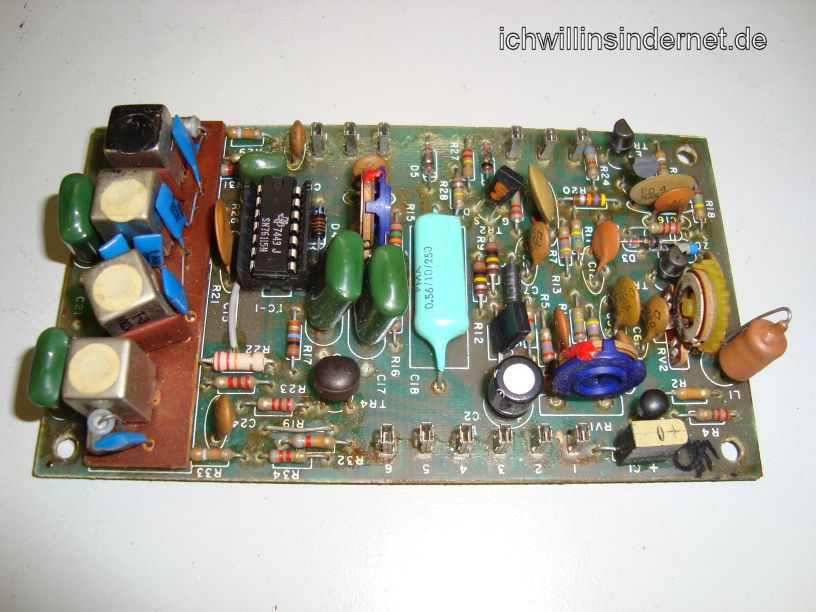 Multiplex Demodulator Assembly alte Kondensatoren