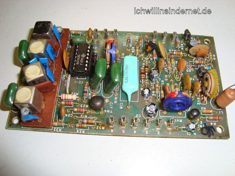 Multiplex Demodulator Assembly neue Kondensatoren