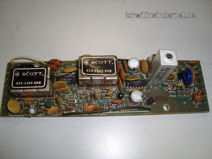 IF Amplifier Assembly alte Kondensatoren