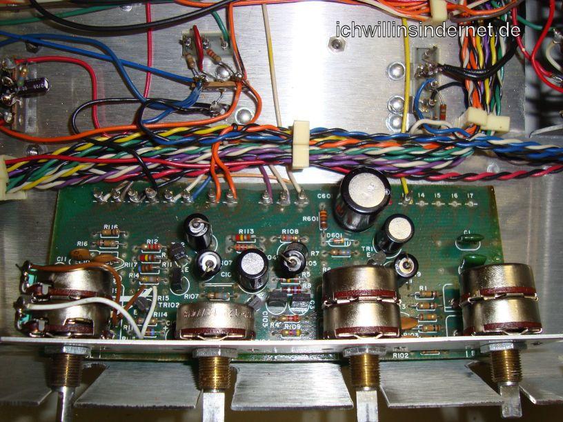 HH Scott R75S: Tone Control Assembly alte Kondensatoren