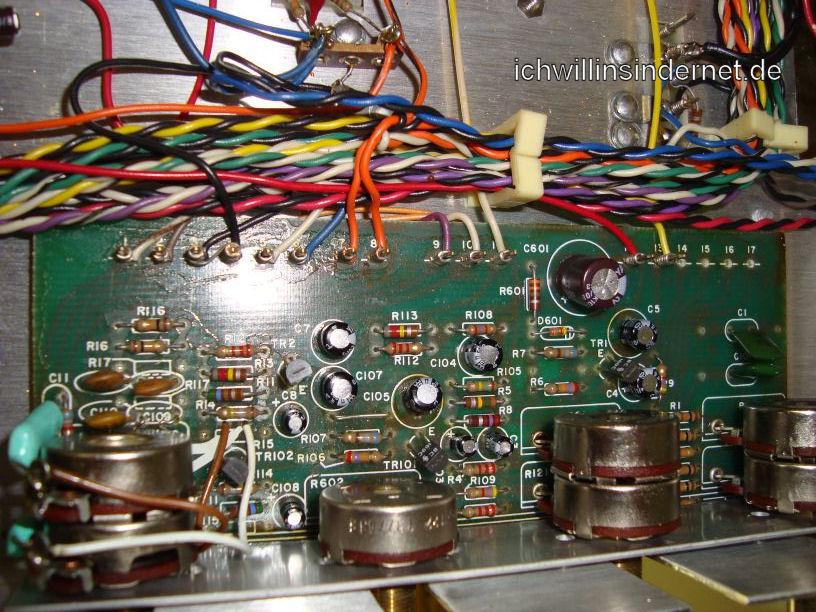 HH Scott R75S: Tone Control Assembly neue Kondensatoren