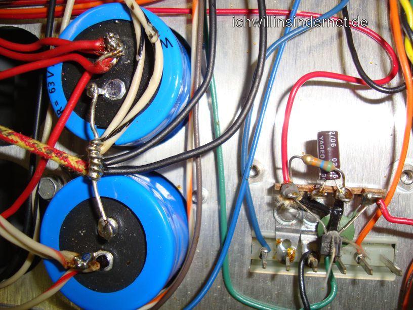 HH Scott R75S: neuer Kondensator am Chassis