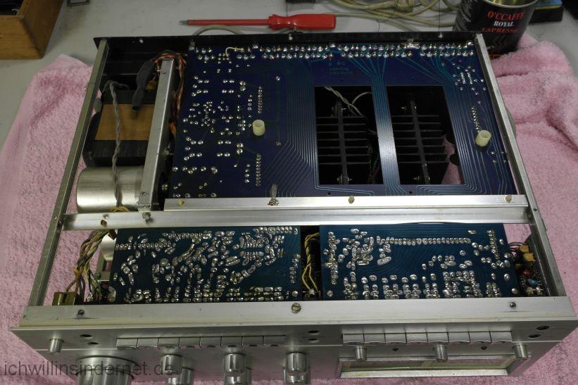 Sherwood HP 2000: Ansicht von unten
