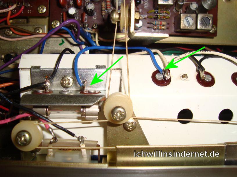 Teac AG-6500: Beleuchtungsumbau