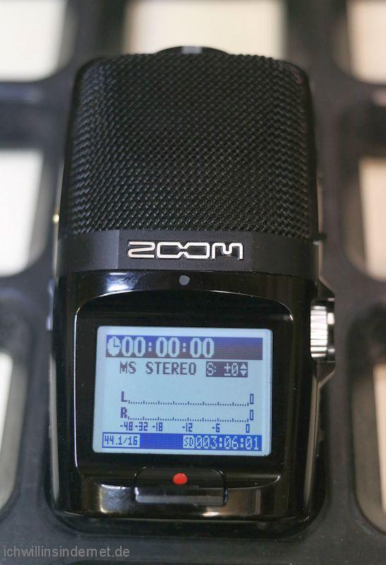 Zoom H2n Handy Recorder im Originalzustand