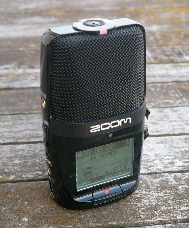 Der Zoom H2n Handy Recorder funktioniert wieder