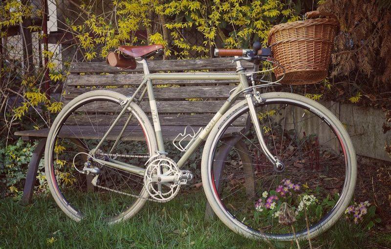 Schöner neuer Lenker fürs Fahrrad