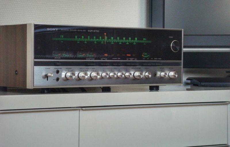 Reparatur eines Sony SQR-8750 Quadro Receivers