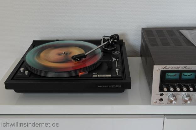 Restaurieren eines Dual 621 Plattenspielers