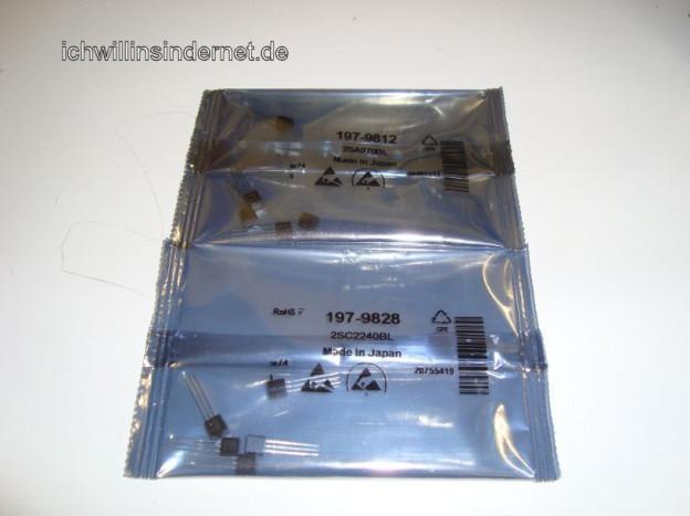 Vorstufe reparieren beim Marantz 4300 Quad Receiver