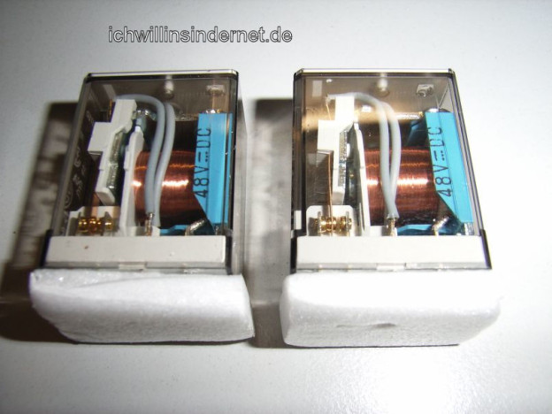 Relais tauschen beim Marantz 4300 Quadro Receiver