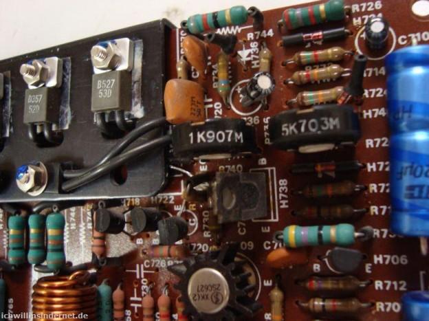 Anfällige Bauteile wechseln beim Marantz 4300 Quadro Receiver