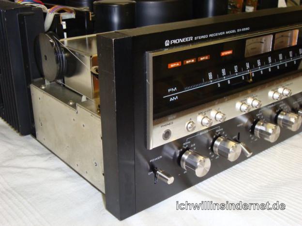Elkos tauschen beim Pioneer SX-5590