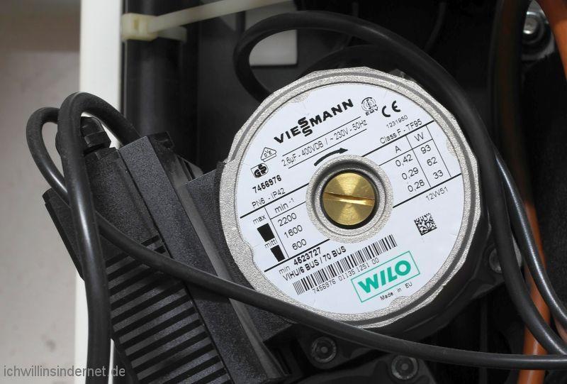Viessmann Vitodens 300: Steuerung der Heizkreispumpe reparieren
